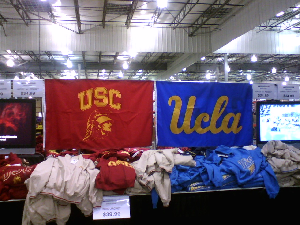 Picture of college banners