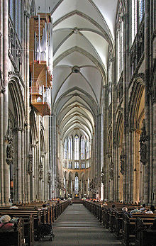 Cologne Cathedral Nave