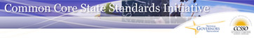 Common Core Standards Initiative Banner
