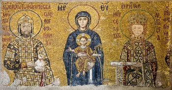 Mosaic Of Komnenos