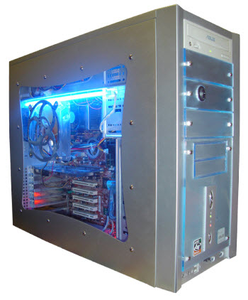 computer case transparent