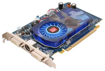 video card with fan