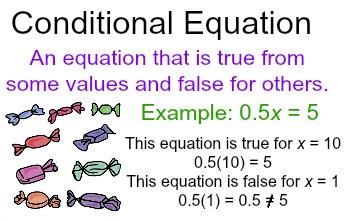 simplifying solving conditional equations study com