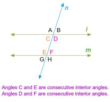 Perfect Consecutive Interior Angles