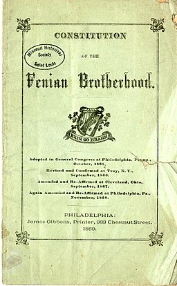 Constitution of the Fenian Brotherhood