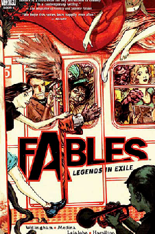 Cover to __Fables__ trade