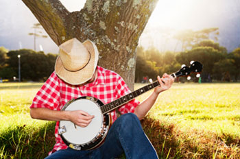 country music cowboy poetry banjo