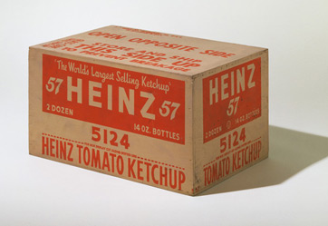 Heinz Tomato Ketchup by Andy Warhol (1964)