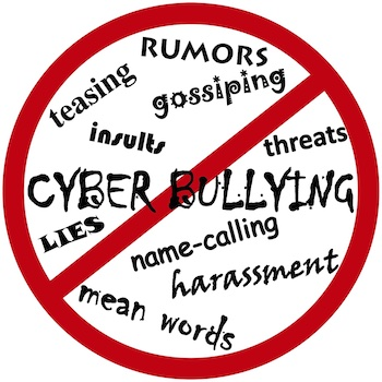 How many cyberbullying cases are there in a year