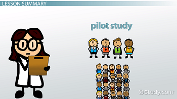 importance of pilot study in research pdf