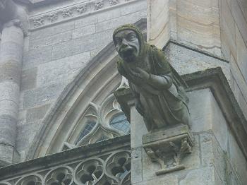 Gargoyle In Marne France