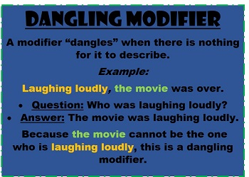 How to fix a dangling modifier study what is a dangling modifier ccuart Gallery