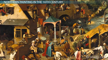 Comparing Northern 16th-Century and High Renaissance
