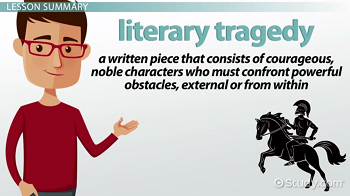 Literary tragedy definition