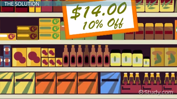 Calculating a 10 Percent Discount: How-to & Steps - Video ...