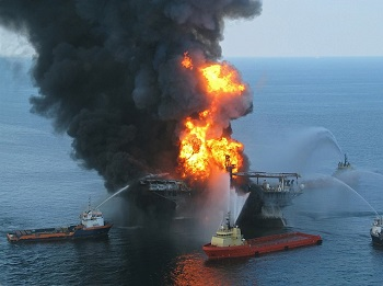 Oil Rig of Fire