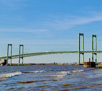 Delaware Memorial Bridge: Construction & History   Study com