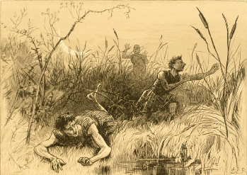 Demetrius And Lysander Both Befuddled By Potion Illustration Alfred Fredericks