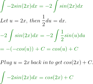 Solving the Derivative of cos(2x) - Video & Lesson