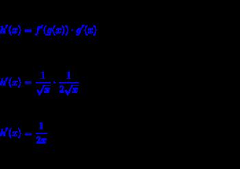 Solving the Derivative of ln(sqrt x) | Study.com