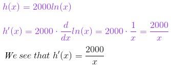 Solving the Derivative of ln(x) | Study.com