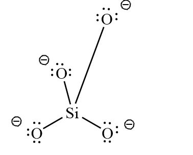 Draw A Lewis Dot Diagram For The Silicate Ion Sio44 Study Com