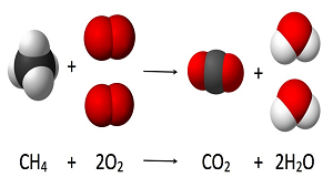 the relation in the process of combustion and carbon dioxide The hydrocarbons in fuel normally react only with the oxygen during the combustion process to form water vapor (h2o) and carbon dioxide (co2), creating the desirable effect of heat and.