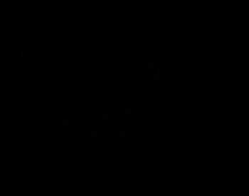 SameSide Interior Angles Definition Theorem Video Lesson