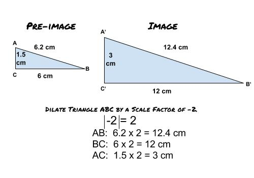Using Dilations To Prove Figures Are Similar