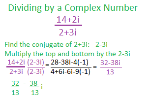 Using the Standard Form for Complex Numbers   Study.com