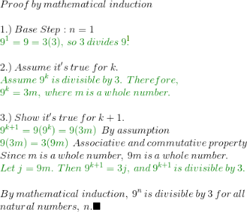 Proving Divisibility: Mathematical Induction & Examples - Video ...