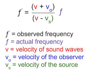 Doppler Shift: Definition & Formulas - Video & Lesson