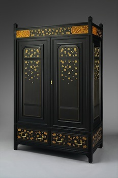 Cabinet By The New York Based Herter Brothers, Whose Designs Were Strongly  Influenced By The Ideas Of Charles Eastlake, As Seen In This Rectilinear,  ...