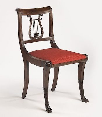 Superbe Duncan Phyfe Side Chair