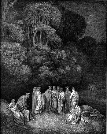dantes inferno first circle of hell punishments