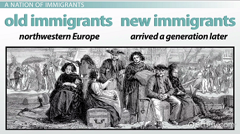 Old immigrants and new immigrants