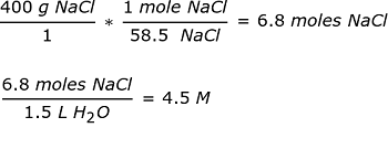 Calculating Molarity and Molality Concentration - Video
