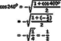Half Angle Rule Formula Examples Study Com