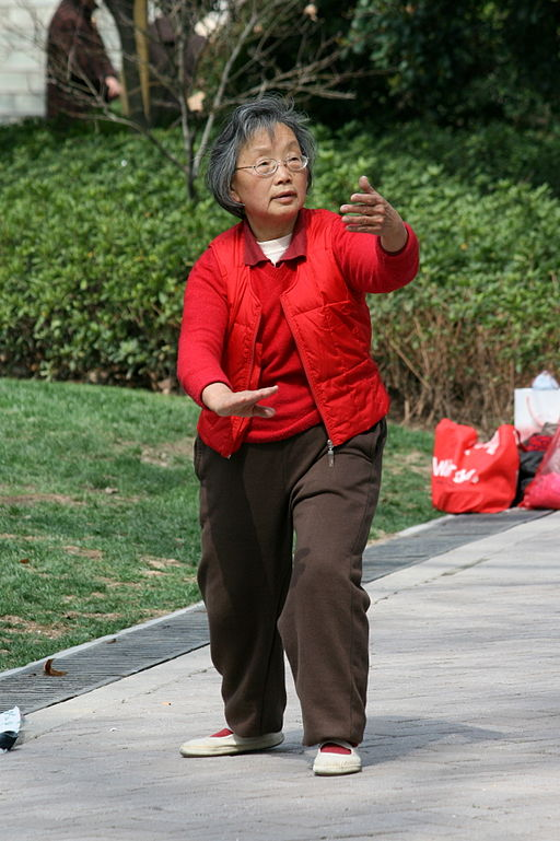 Elderly tai chi