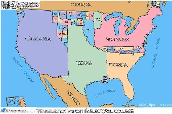 What Is The Map Of The United States.What Meaning Do You Gather From The Political Cartoon Provided That