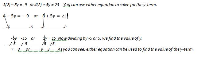 Elimination Method in Algebra Definition Examples Video – Elimination Method Worksheet