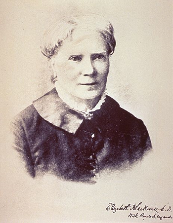 Elizabeth Blackwell 1st U.S Woman Doctor New York Infirmary Vintage Bronze Medal
