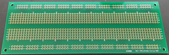 Empty medium solder board