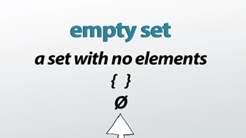 The Empty Set in Math: Definition & Symbol - Video & Lesson