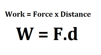 how to find work physics formula