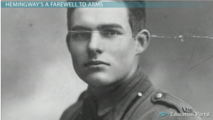 Ernest Hemingway WWI Photo