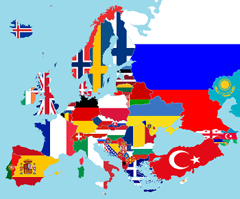 european countries in french study com