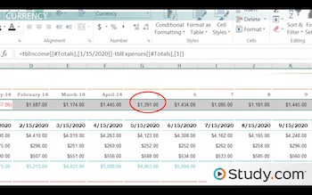 The Number Format in Excel: Options & Properties - Video