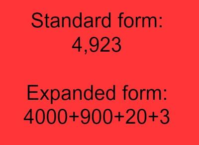 standard form 3rd grade example  9rd Grade Math Vocabulary: Lesson for Kids | Study.com