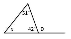 Exterior Angle Theorem: Definition & Formula | Study.com